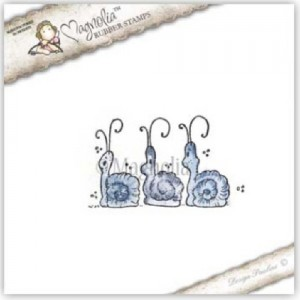 (S1407_WFC14)- Three Little Christmas Snails