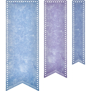 (DL303) Pierced Banners (Set of 3)
